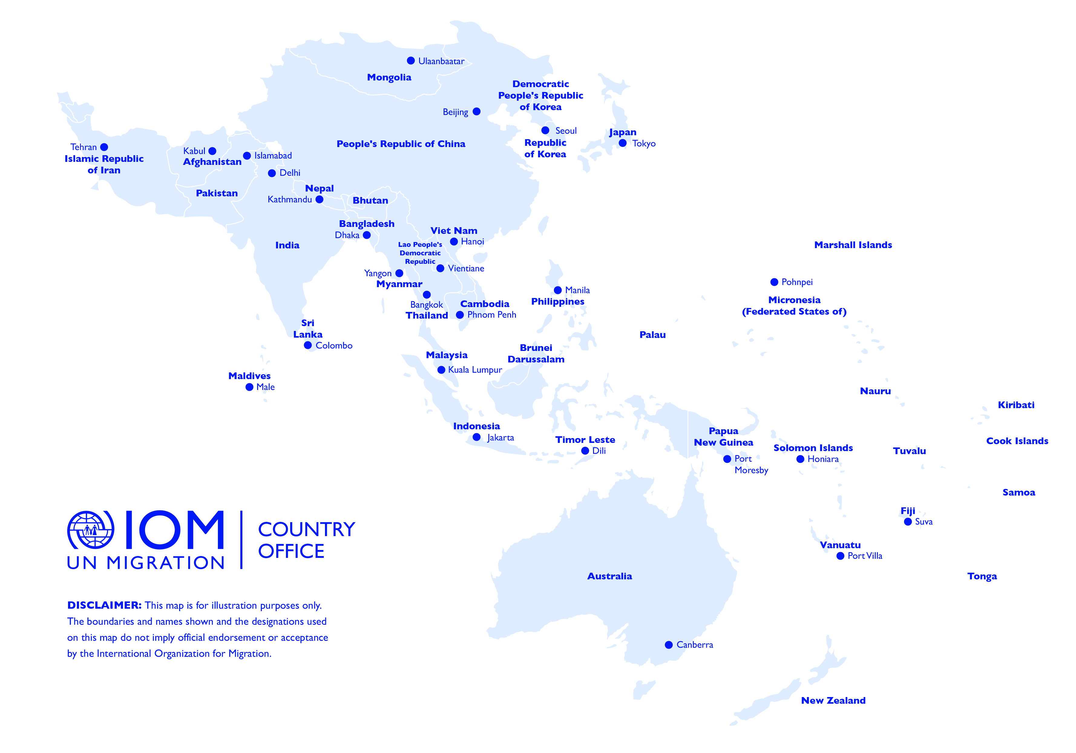 Asia and the Pacific | International Organization for Migration