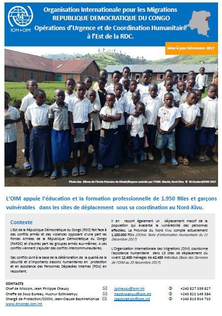 Democratic Republic of the Congo | International Organization for