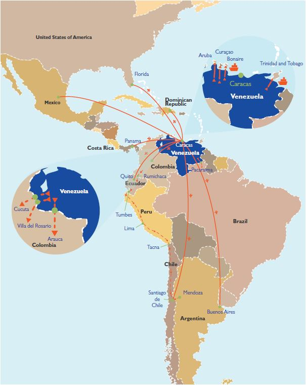 Venezuela international organization for migration migration trends in the americas bolivarian republic of venezuela gumiabroncs Gallery