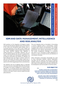 Data Management, Intelligence and Risk Analysis