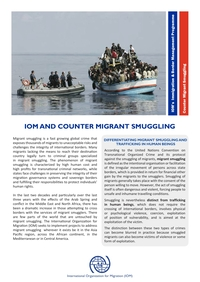 Counter Migrant Smuggling