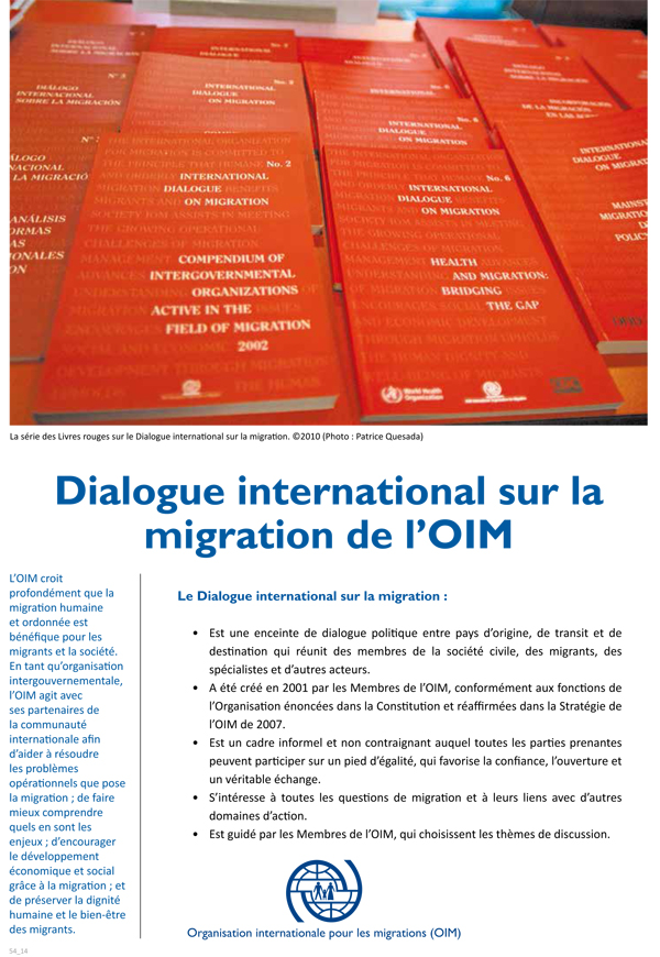 Soci t s et identit s les incidences multiformes de la migration 2010 organisation - Office de migration internationale ...