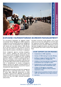 Humanitarian Border Management