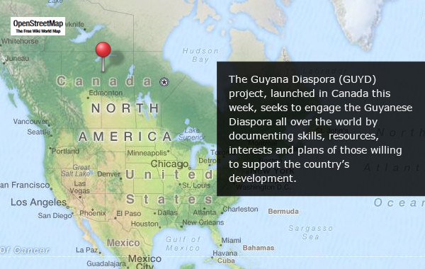 Guyanese Diaspora Project Launched In Canada
