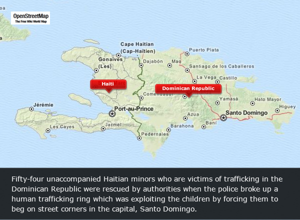 Haitian child victims of trafficking in dominican republic receive press gumiabroncs Choice Image
