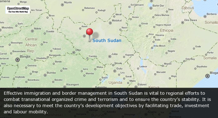 South Sudan Builds Border Management Capacity International Organization For Migration