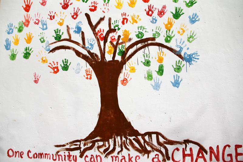 Diario de un proyecto organizaci n internacional para for Cuanto cobrar por pintar un mural