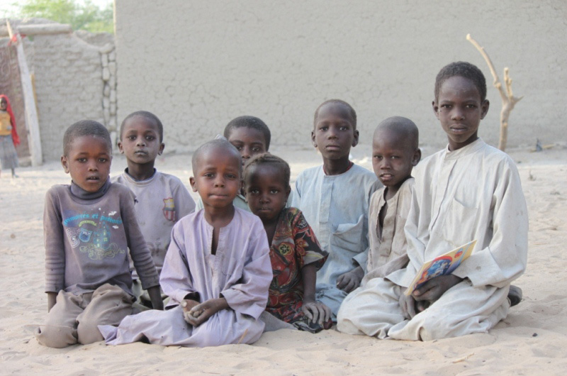 The children who were born in Libya to Chadian parents are facing reintegration problems particularly linked to the language, adaptation to the culture and access to schools. © IOM 2012