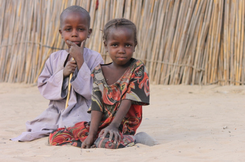 Most of the children that returned from Libya are currently not going to school. © IOM 2012