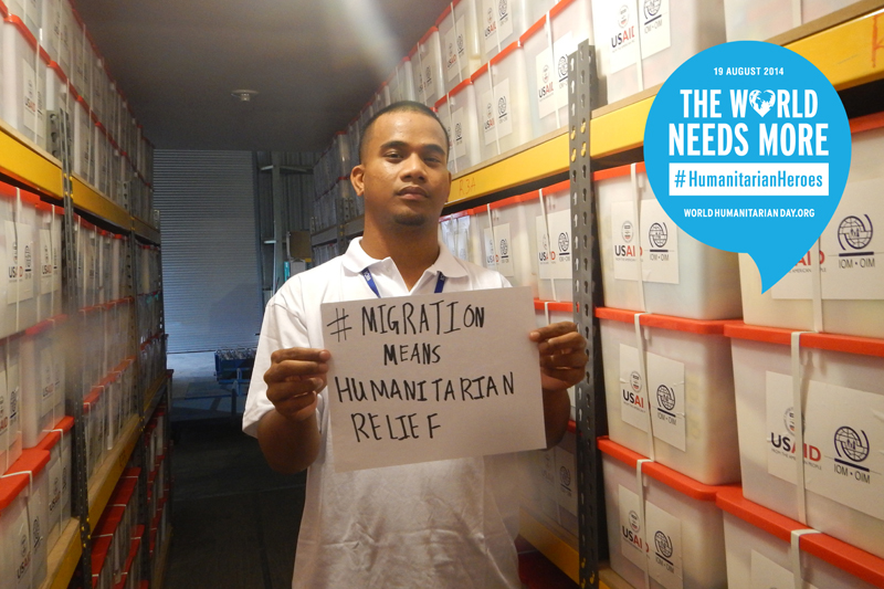 Timmy Langrine, Warehouse Manager – MICRONESIA. He is in charge of maintaining the relief previsioned supplies in the warehouse. His most memorable moment at work was the first time he witnessed the relief in the faces of the beneficiaries when they received aid during the RMI Drought Response 2013 – 2014.