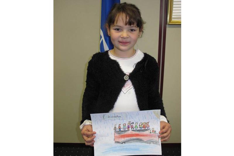 Marie 8 años La ganadora