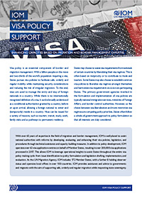 IOM Visa Policy Support