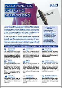 Policy Principles Underlying Visa Processing