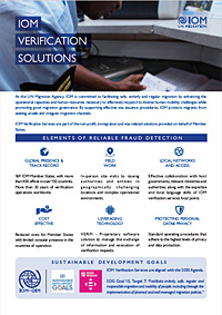 IOM Verification Solutions