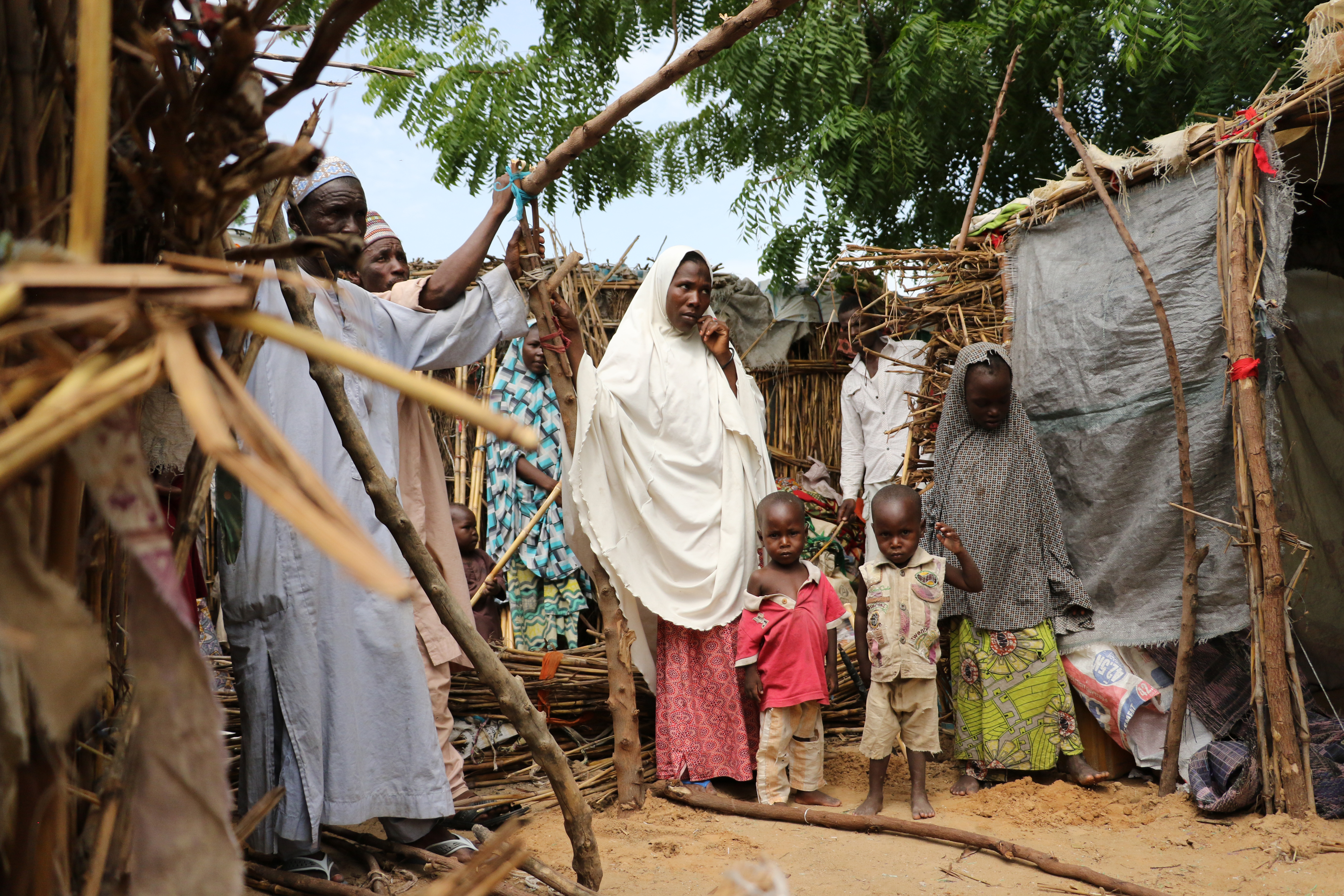 IOM Director General William Lacy Swing spent three days meeting with some of the internally displaced at camps and in communities in the hardest hit areas of Borno state, the epicentre of the conflict. IOM's emergency response is based in Maiduguri, the capital of Borno and the birthplace of Boko Haram.