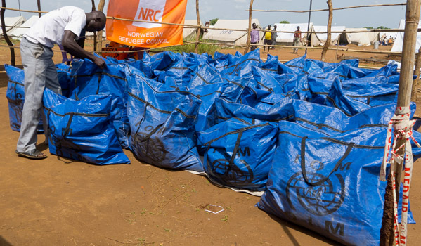 On arrival in Juba, South Sudanese returnees are moved to a transit site established and managed by IOM and UNHCR, in coordination with South Sudan's Ministry of Humanitarian Affairs and Disaster Management and the Relief and Rehabilitation Commission. IOM provided shelter, water and sanitation, lighting and non food emergency relief items in the transit site. © IOM 2012 (Photo by Jasper Llanderal)