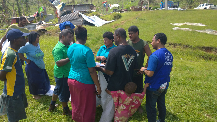 What surprised me the most was the communities' resilience, inspirational outlook and positive spirits as they planned to re-build their homes with no apparent interest of moving to a safer place. © IOM/Robyn Ormerod 2016