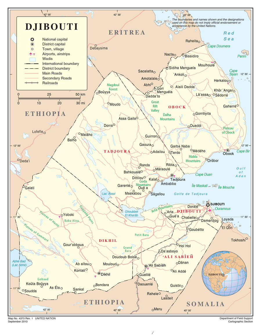 an overview of the country of eastern djibouti Middle east north america barring djibouti city, the country is refreshingly devoid of large-scale development it's all about ecotravel.