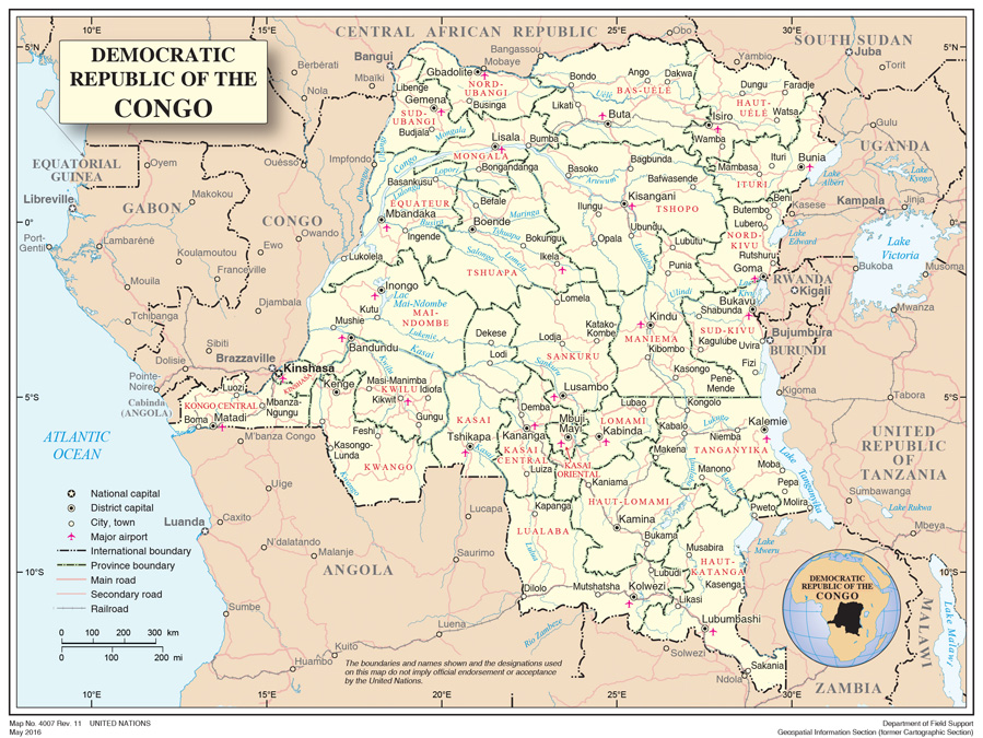 Democratic Republic of the Congo  International Organization for