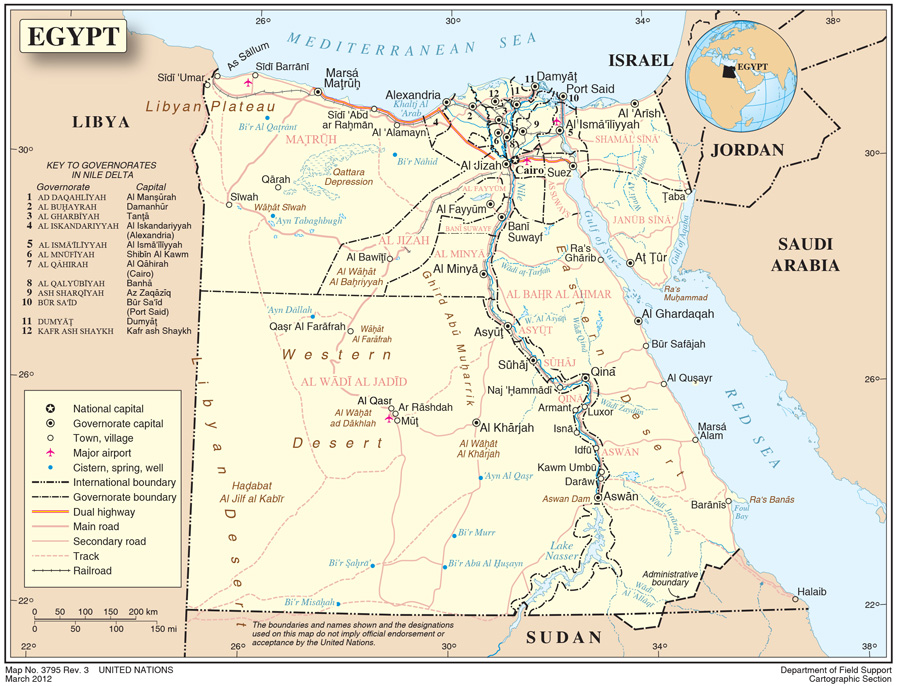 Egypt International Organization For Migration - What country is egypt in