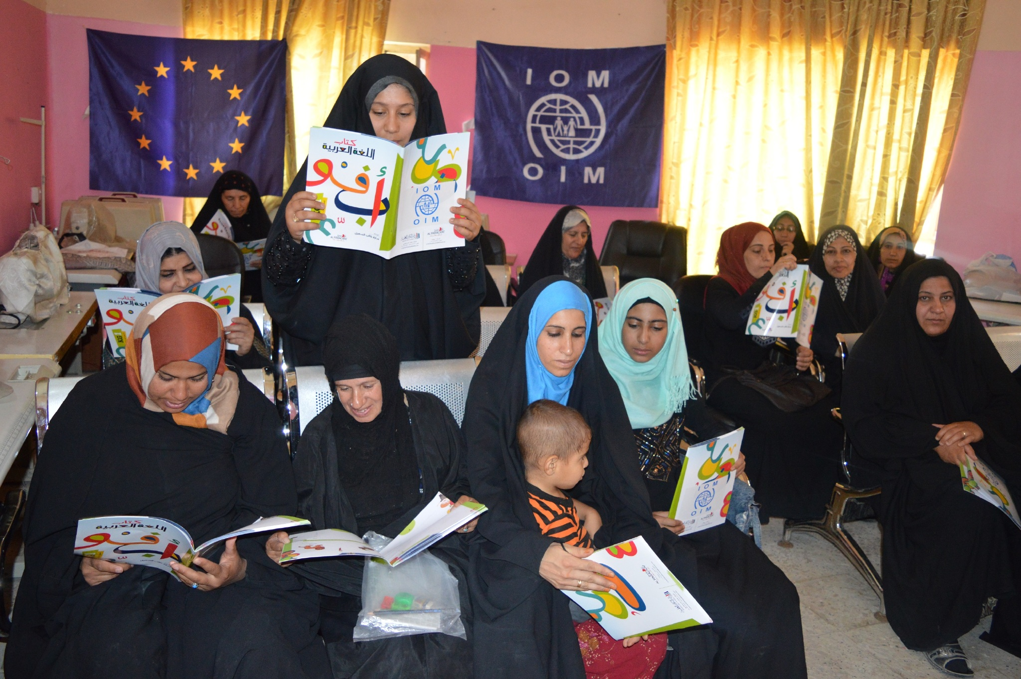 IOM Community Centres Engage Iraq's Displaced, Returnees and Host Communities in Peacebuilding