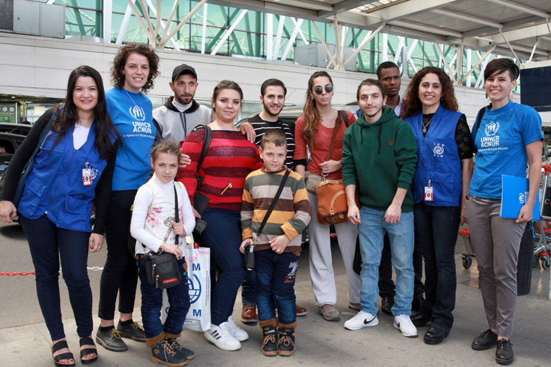 2017 Sees Highest Number of Syrian Refugees Resettled in Argentina Ever as Five Families Arrive