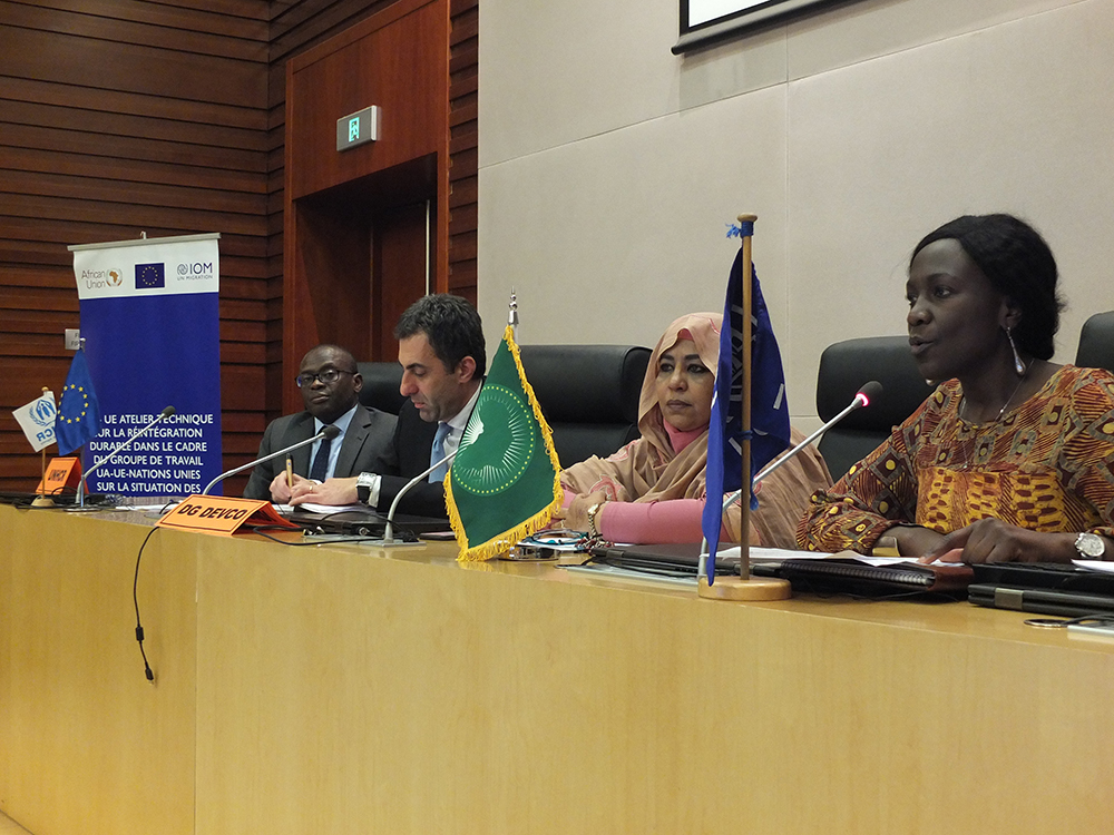 AU, EU, UN Discuss Sustainable Reintegration of Migrants