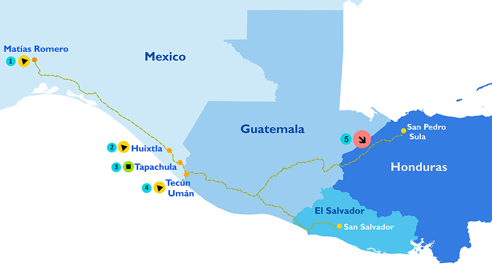 IOM Monitors Caravans of Central American Migrants, Supports ...