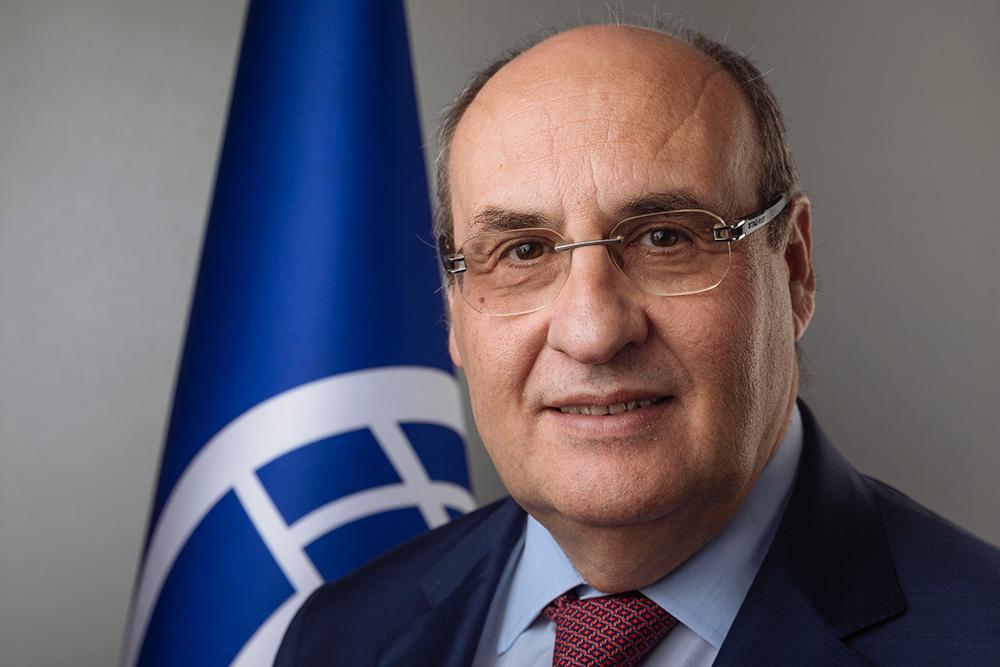 El nuevo Director General de la OIM, António Vitorino. Foto: OIM/M. Mohammed