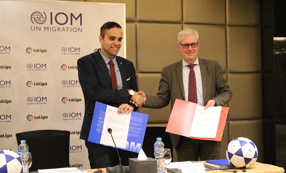 IOM, LaLiga Partnership Highlights International Day for the Elimination of Racial Discrimination