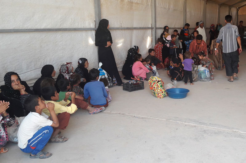 Thousands of Iraqi Civilians Fleeing Talafar Assisted by UN Migration Agency