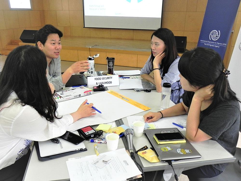 IOM Korea Trains Korean Humanitarian Workers on Data Analysis and