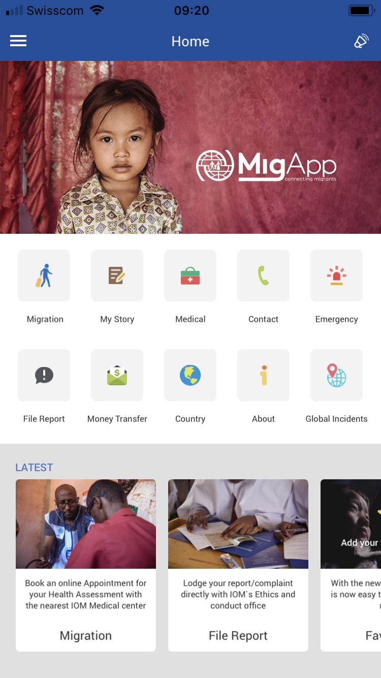 IOM Releases Redesigned, Now Customizable Mobile App 'MigApp' in 4 New Languages