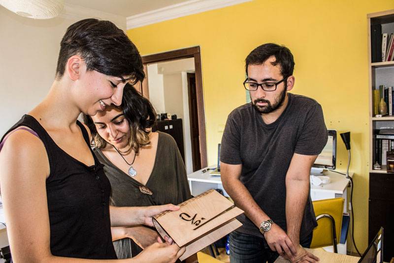 Young Migrant Refugee Turkish Entrepreneurs Bring Business Ideas