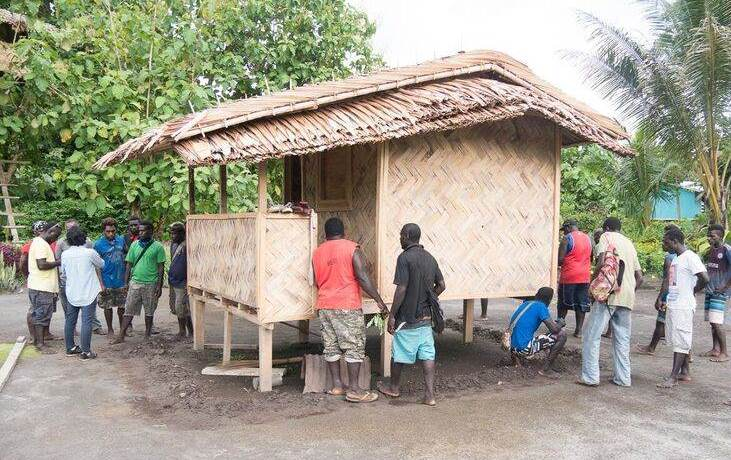 Trainees Inspect A Shelter To Assess Its Safety Features Photo IOM