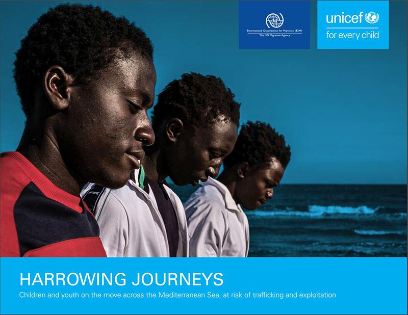 Oim unicef : près des trois quarts des enfants et jeunes migrants