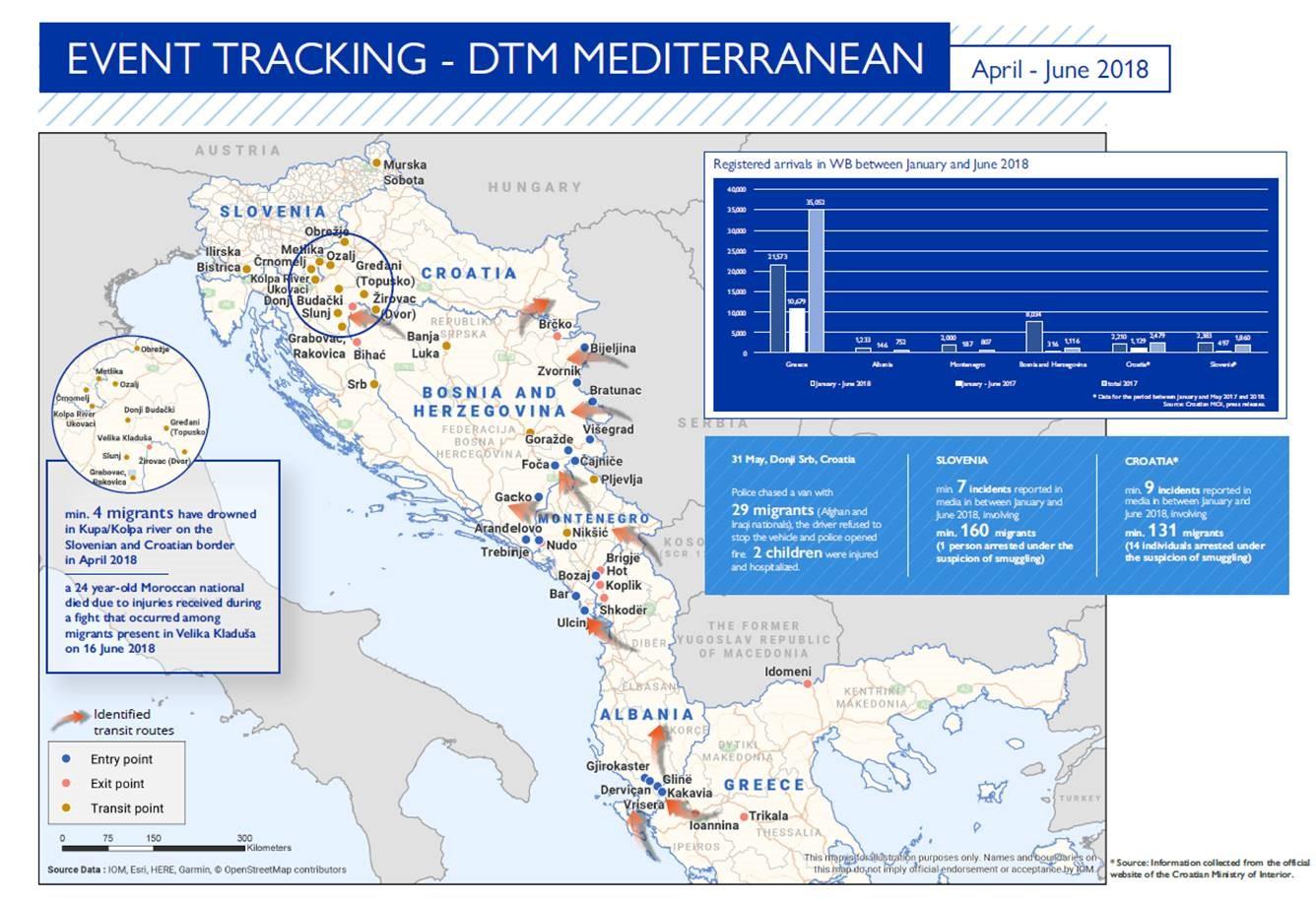 Mediterranean Migrant Arrivals Reach 53,269 in 2018; Deaths Reach ...