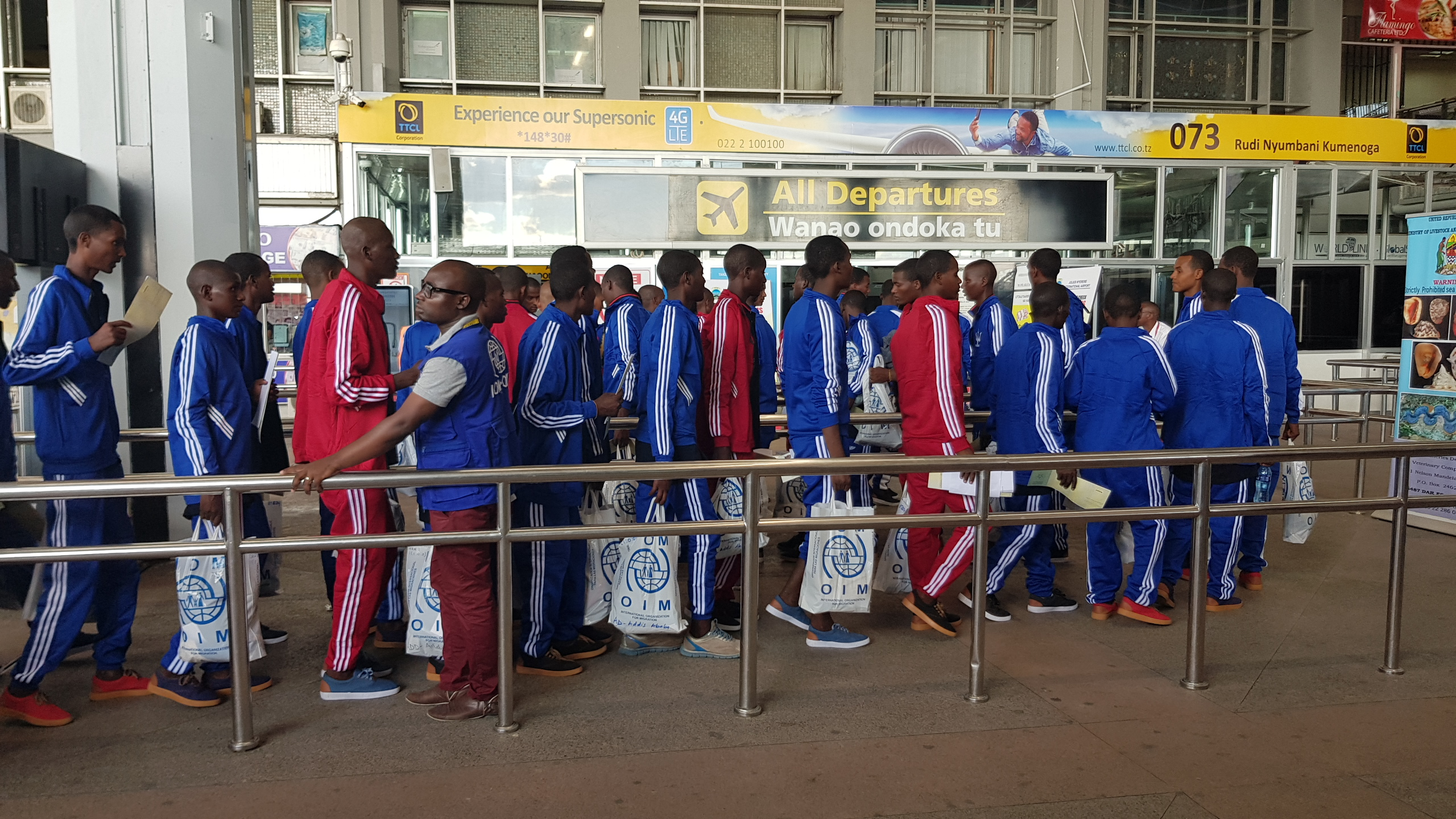 IOM Facilitates the Return of 300 Stranded Ethiopian Migrants from