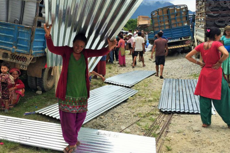 Nepal - Earthquake Response Situation Report | 7 August 2015