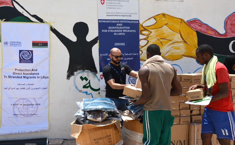 Libya: Humanitarian Support to Migrants and IDPs   July 2016