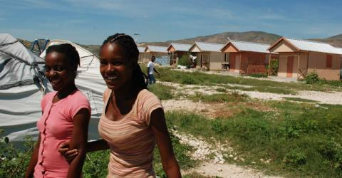 A study by IOM and the Brookings Institution examines the question of durable solutions to internal displacement in Port-au-Prince, recognizing that the challenges faced in Haiti may be a source of insight for responses to other urban, post-disaster displacement crises. © IOM 2014