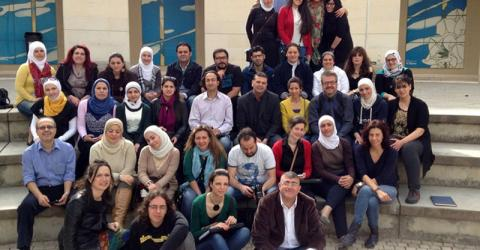 IOM and the Lebanese University offer a masters degree course to Syrian and Lebanese professionals currently providing psychosocial assistance to war-affected communities. © IOM 2014
