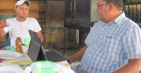 Tony is one of the 20 persons who have benefited thus far from IOM assistance to develop a successful business plan. © IOM 2013