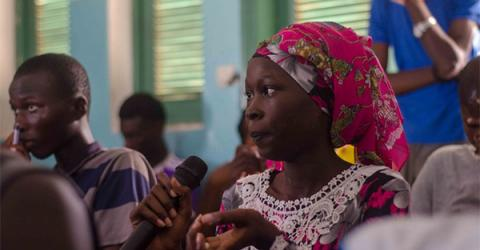Migrants as Messengers: Communities Meet to Share,  Discuss Migration Experiences