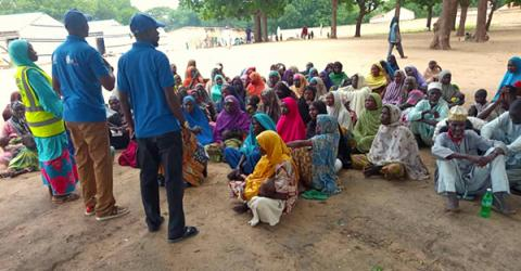 IOM, Humanitarian Partners Respond to Cholera Outbreak in North-East Nigeria as Death Toll Rises