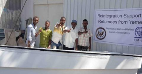 Somalis Fleeing Yemen Conflict Supported to Scale-Up Fishing Ventures