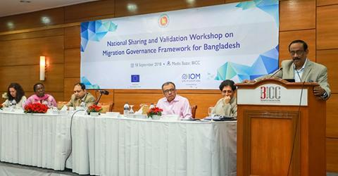 IOM Backs Bangladesh's Adoption of Migration Governance Framework