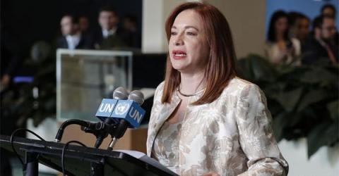 First Latin American Woman Head of UN General Assembly Calls for Multilateralism