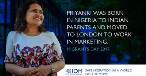 UN Migration Agency DG Makes Urgent Call for 'Safe Migration in a World on the Move' for International Migrants Day