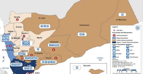 IOM activities in Yemen